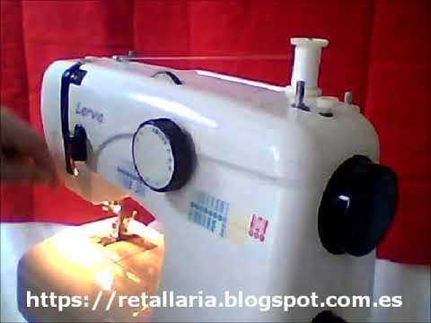 Enfiado Da Máquina Lervia KH 40 40 YouTube Unique Lervia Sewing Machine Instructions