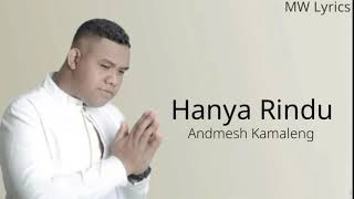 [1.42 MB] Admesh kamaleng - Hanya Rindu ( lirik )