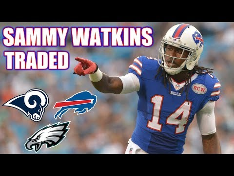 Sammy Watkins traded away in a 3 team trade!!!
