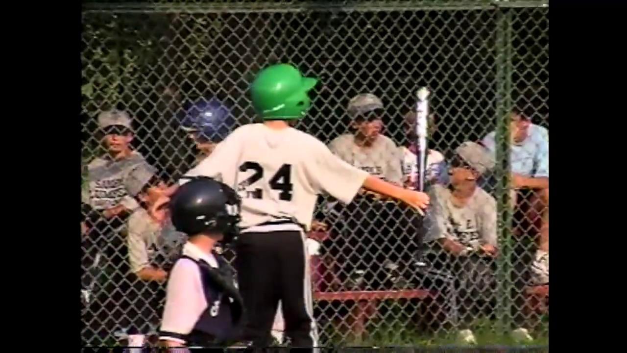 Champlain - Mooers Peewee Baseball  7-3-98