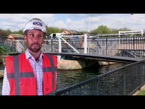 ECS Engineering Ltd install a FRP footbridge at Kiora