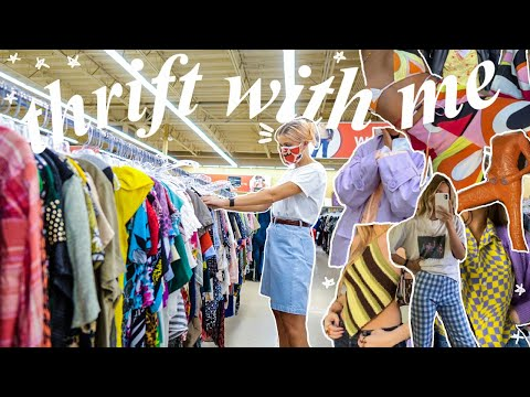 COME THRIFT WITH ME FOR SPRING SUMMER 2021 FASHION TRENDS