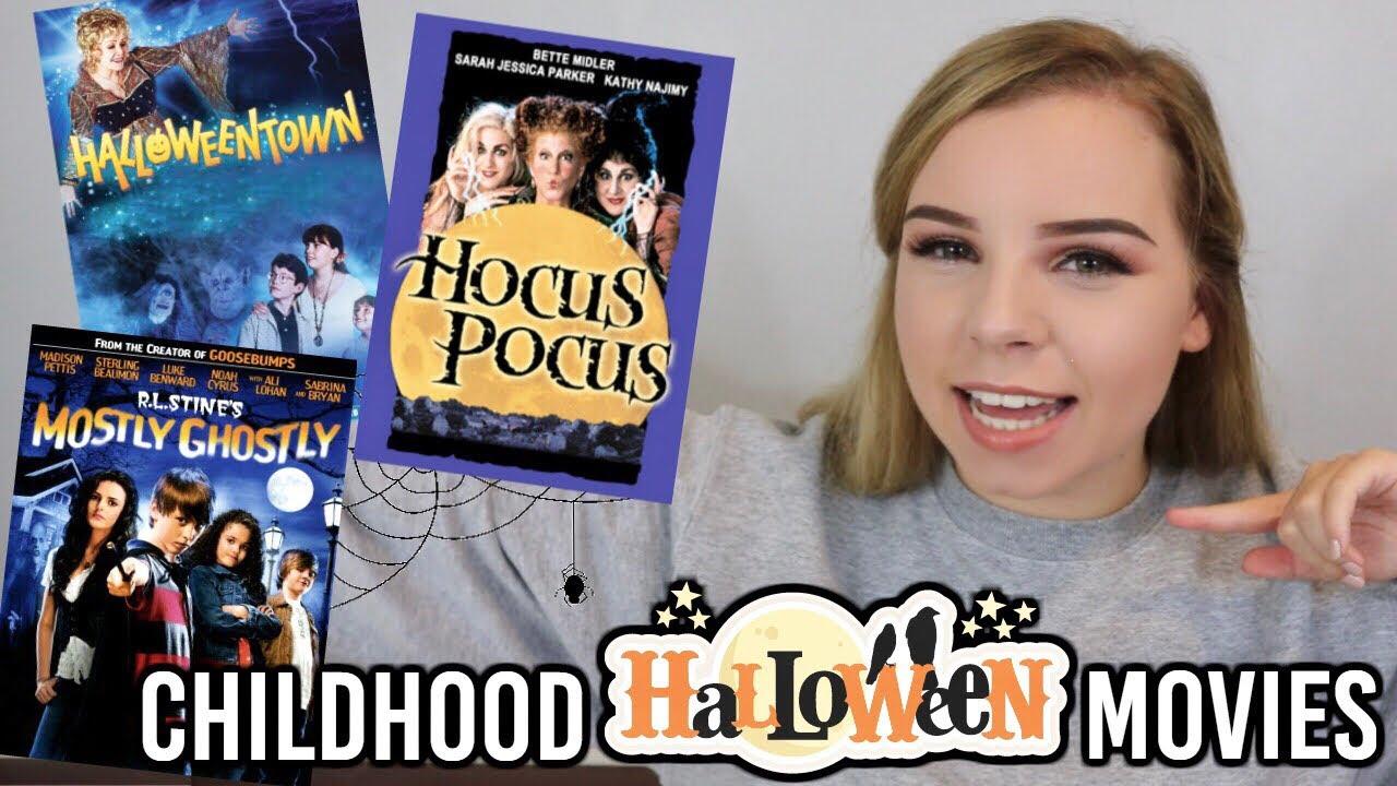 20 best childhood halloween movies! disney and nickelodeon! - youtube