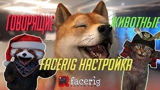 как настроить face rig