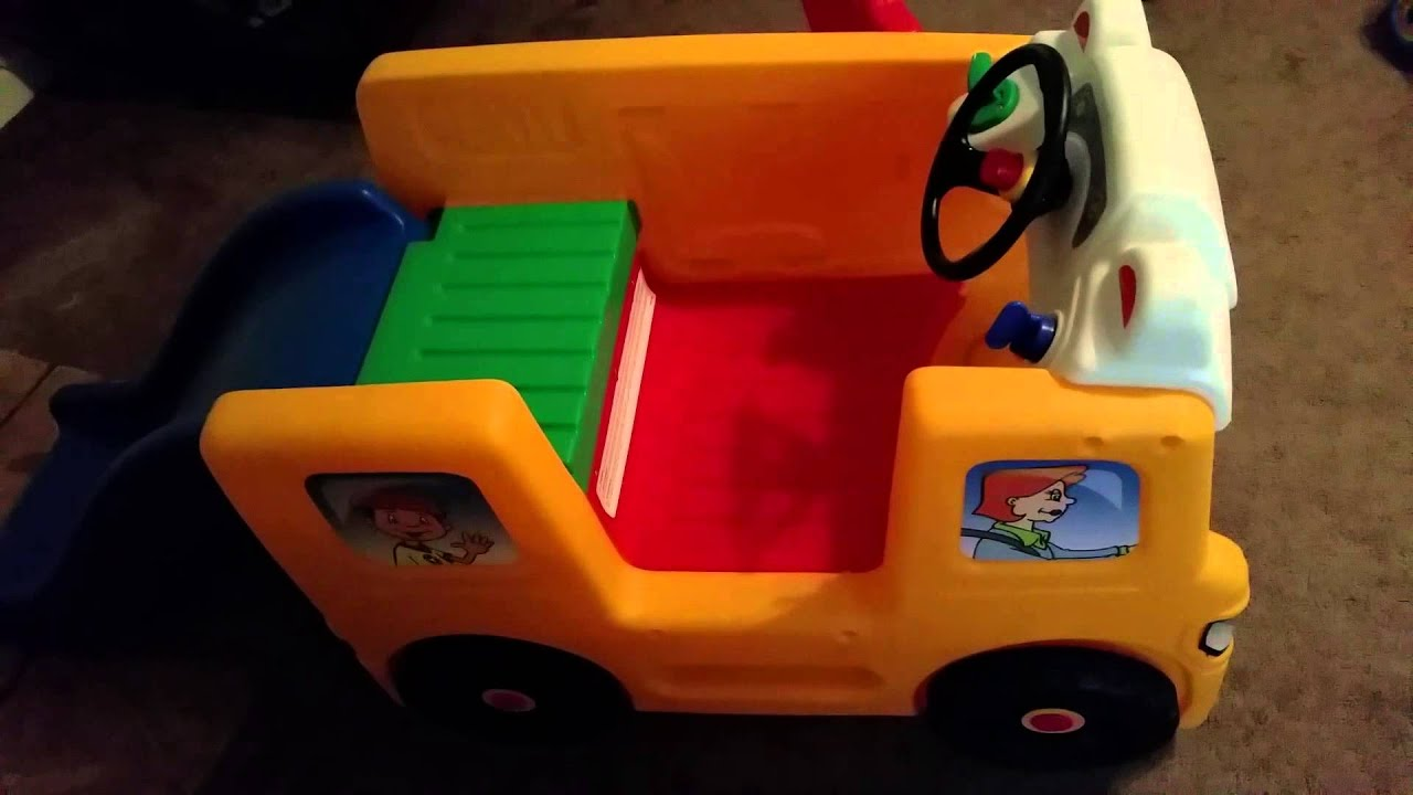 Little Tikes School Bus Activity Gym Review
