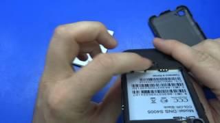 """Смартфон DNS S4005 4"""" 4Gb Black"""