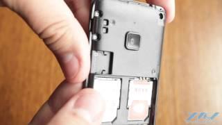 Как вставить SIM-карту в Samsung SM-B350E (XDRV.RU)