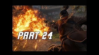 ASHINA CASTLE LOCKOUT - SEKIRO SHADOWS DIE TWICE Walkthrough Part 24 (Let's Play Commentary)