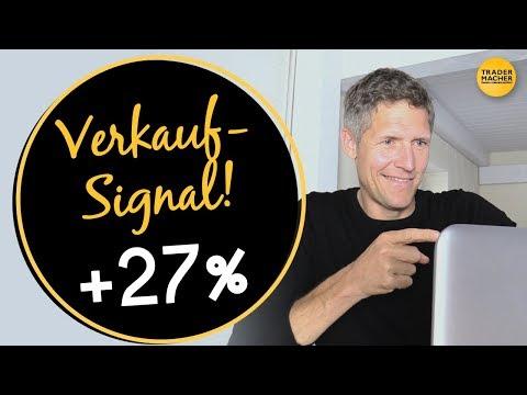 Verkauf-Signal mit +27% Chance!