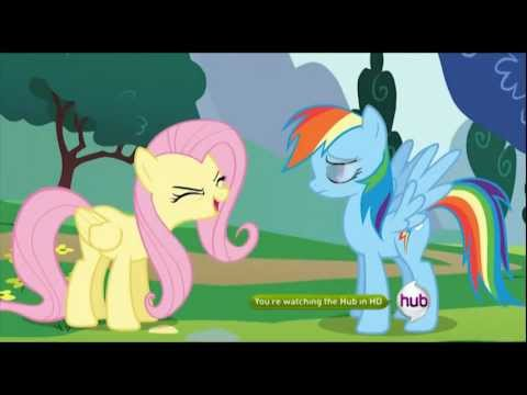 Fluttershy has developed an unfortunate case of Tourette Syndrome