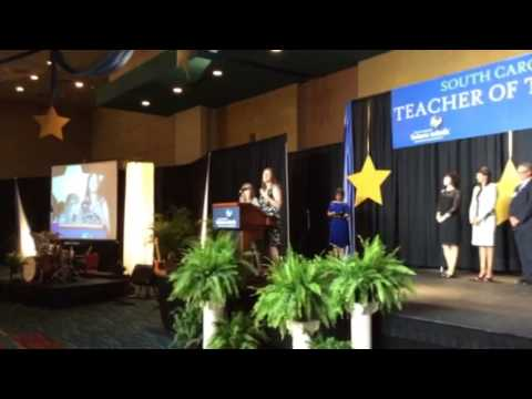Jennifer Ainsworth Is The S.C. Teacher Of The Year