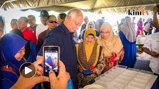 Support for Najib remains strong in Pekan