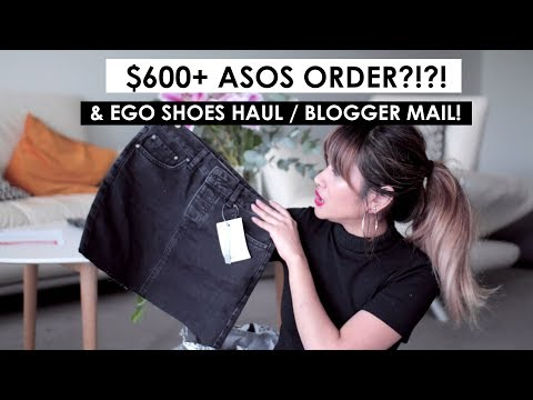 Collective Haul - $600 ASOS ORDER?!?! Egos Shoes, Ry.com.au