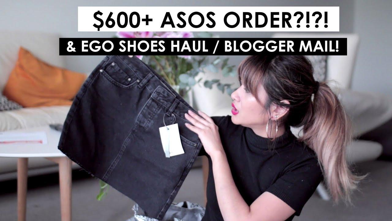 81ba94af72 Collective Haul -  600 ASOS ORDER ! ! Egos Shoes