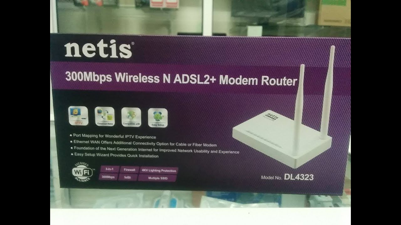 Netis DL4323 Router Drivers for Mac Download