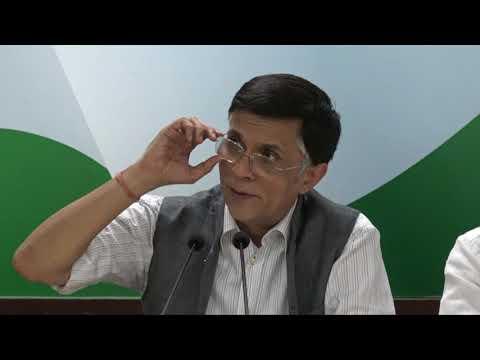 AICC Press Briefing by Pawan Khera on Fuel Price Hike