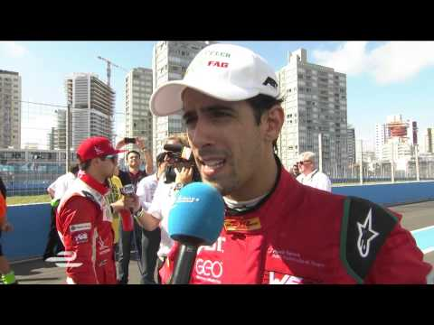 Punta del Este ePrix Lucas di Grassi post-race interview