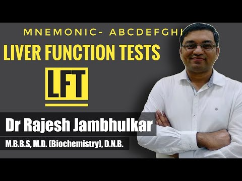 Liver Function Tests (LFT) With Mnemonic- ABCDEFGHI