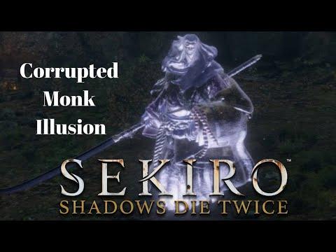隻狼暗影雙死: 幻影破戒僧 道具流簡易打法 (Sekiro: Shadows Die Twice: Corrupted Monk Illusion)