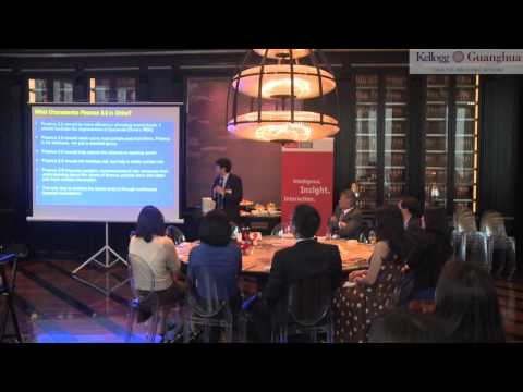 The Internationalisation of the RMB:  The Economist Corporate Network