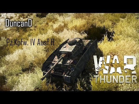 War Thunder : German YOLO tank !! (Pz.Kpfw. IV Ausf.H)