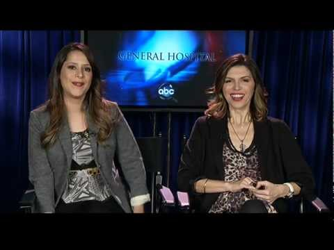 General Hospital's Finola Hughes and Kimberly McCullough Discuss their reunion and Robin's Exit