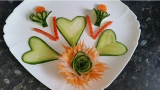 Beautiful carving with mix vegetables by Delicious food recipes