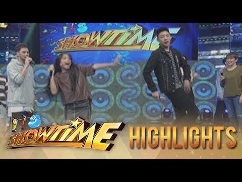 """It's Showtime: Ylona and Darren's """"Taga-Saan Ka?"""" challenge"""