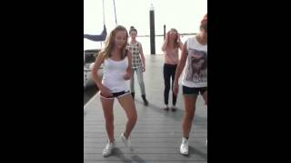 Dancing on the jetty