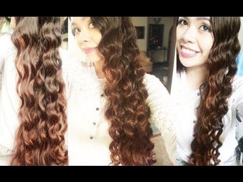 No Heat Chopstick Curls Heatless Inspired Arwen Loose