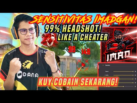 SENSITIVITAS IMADGAN 1 HIT LANGSUNG HEADSHOT?-GARENA FREEFIRE