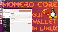 Monero Core GUI Wallet Beta for Linux Ubuntu/Mint/Debian/Arch+ XMR