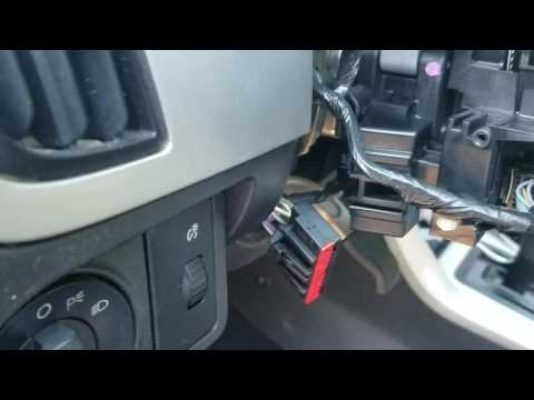 2010 Ford Focus SES ignition switch replaced