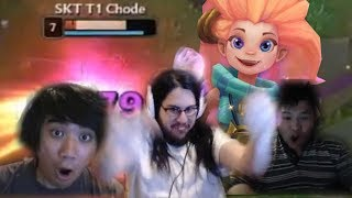 When Streamers Play Zoe | Imaqtpie Insane Bard Play | Dyrus Rage AD LuLu | LoL Highlights