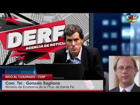 Saglione: El pago de salarios y aguinaldo está garantizado