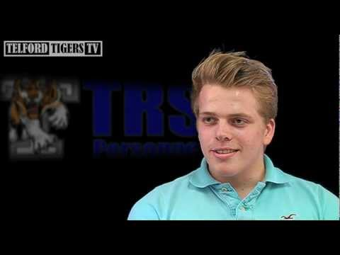 An interview with TRS Telford Tigers forward Thomas Soar