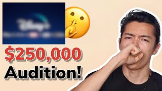 OPEN AUDITION WORTH $250,000