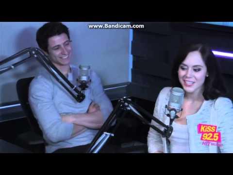 Tessa Virtue and Scott Moir Radio Interview KiSS 92 5