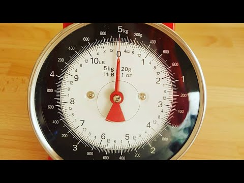 How To Use A Metric Kitchen Weighing Scales