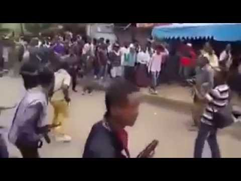 Amhara Protests in Gonder, Northern ethiopia