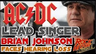 acdc singer brian johnson forced to leave band tour by john beaudin