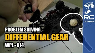 WPL C14 - Problem - Rear or Front Wheels cannot Spin - Differential Gear  | RC Offroad Adventure