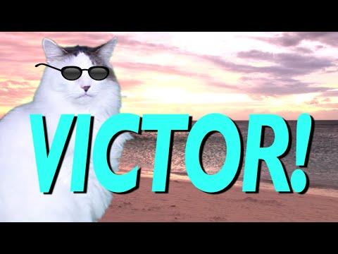 Happy Birthday Victor Epic Cat Happy Birthday Song