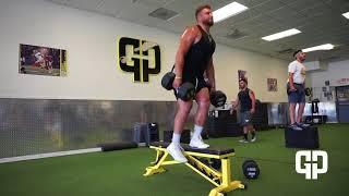 College Football Lower Body Strength Training Program