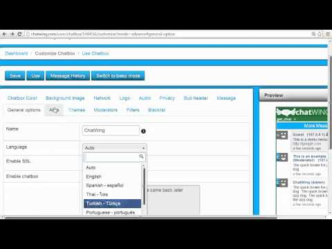 HTML 5 Instant Chat Room Create Website Chat