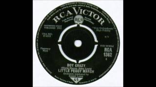 Little Peggy March - Boy Crazy YouTube Videos