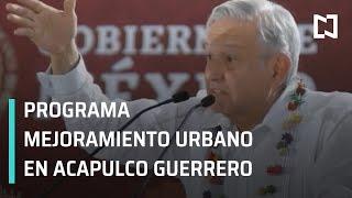 Amlo En El Programa De Mejoramiento Urbano Mi México Late, Desde Acapulco Guerrero