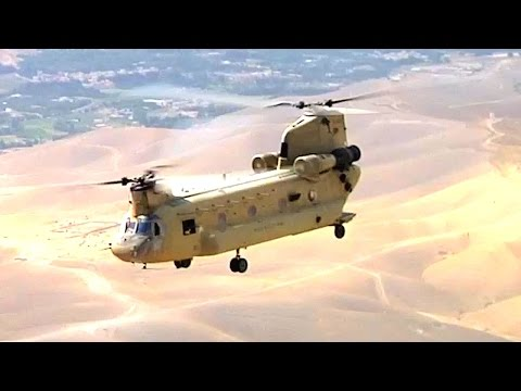 CH-47 Chinook The US Army's most Powerful Aircraft