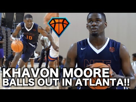 6'8 Khavon Moore Was SCORING & DIMING All Over the Court in Atlanta!! | Best of the South Highlights