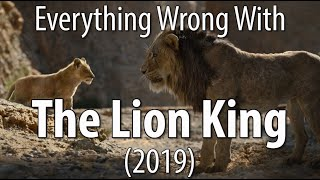 Everything Wrong With The Lion King (2019) In The Circle Of Minutes